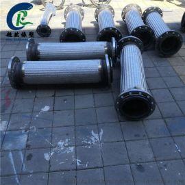 耐高温耐酸碱不锈钢金属软管 河北超然DN38不锈钢金属软管