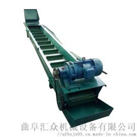 粮食用刮板机 板式给料机 六九重工 可弯曲刮板输送