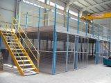 制作安装钢平台货架室内钢结构阁楼重型钢平台