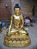 佛像铜像摆件 藏传释迦佛 释迦牟尼佛