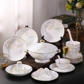 开业庆典礼品陶瓷餐具定制套装 景德镇陶瓷餐具