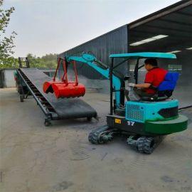 胶轮挖掘机 国产小型轮式挖掘机 六九重工 挖掘机
