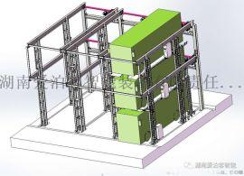 新能源环卫车智能立体充电车库