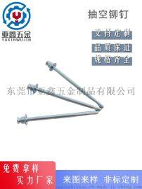 厂家直销碳钢抽芯双沉头铆钉,适用于伺服器薄板紧固件