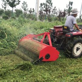 新型悬挂式果园除草机, 荒草粉碎还田除草机