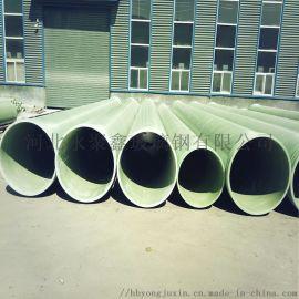 缠绕玻玻璃钢管道 工艺玻璃钢管道 夹砂玻璃钢管道