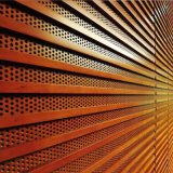 幕墙冲孔装饰铝单板让您拥有多种风格