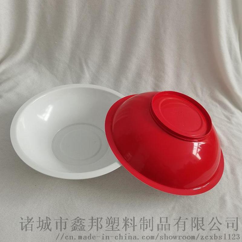 一次性圓形塑料碗 透明打包碗 家庭湯碗 保鮮小飯碗