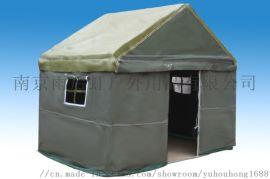 救灾3*4帐篷 南京雨后虹野营军用帐篷 帆布帐篷