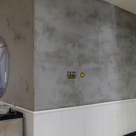 清水混凝土涂料 水泥墙面漆 健身房清水墙