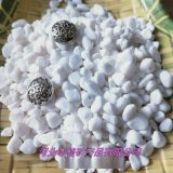 供应园艺用白色小石头 白玉石 白色鹅卵石