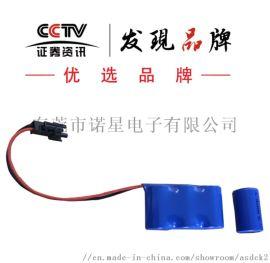 供应CR14250锂锰电池摄像机电池3V柱式锂电池