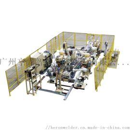 抽油烟机箱体自动化焊接专机