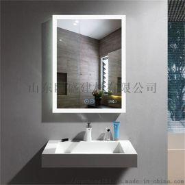 防雾浴室镜 定制LED镜子 LED浴室镜 百澜菲