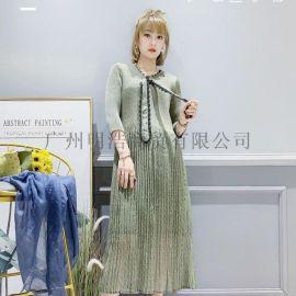 广州明浩长期供应三宅一生折扣女装拿货渠道