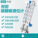 側裝式磁翻板液位計 磁性浮子水位計4-20ma