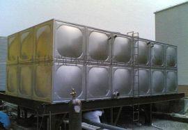 不锈钢方形消防水箱安装