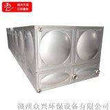組合式不鏽鋼水箱江西贛州304消防水箱送貨   安裝