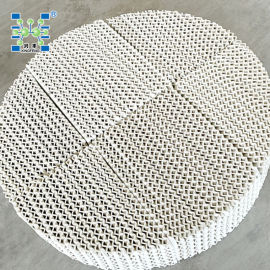 250Y陶瓷波纹填料 化工填料 陶瓷规整填料