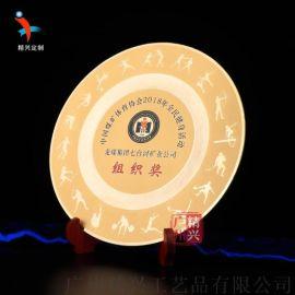 景色紀念獎牌 定做純銅紀念品 獎牌獎品禮品
