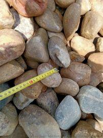 天然杂色鹅卵石大量现货可现场挑选