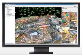 航測後處理軟件全自動處理軟件三維建模