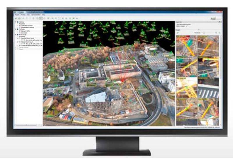 航測後處理軟體全自動處理軟體三維建模