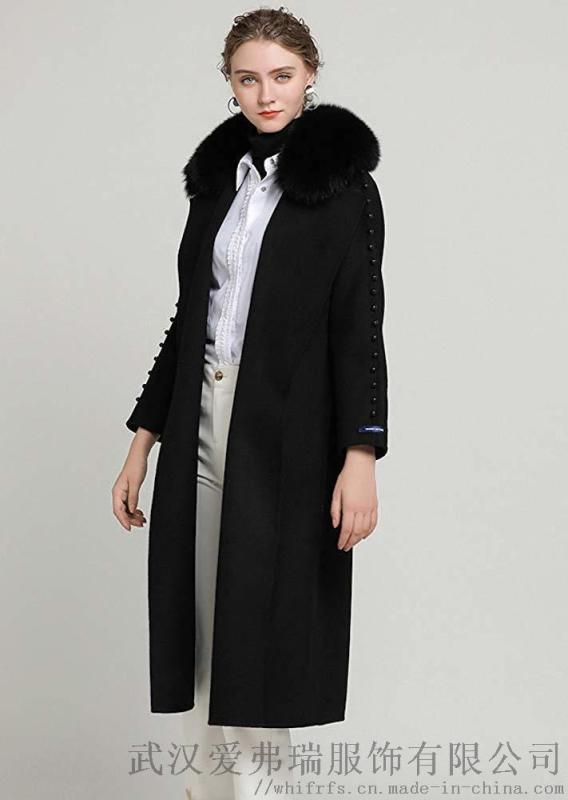 商场服装进货成本几折衣之庄园素色双面尼外套女