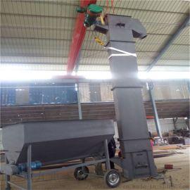 垂直斗式提升机 复合肥料提升机 六九重工 不锈钢斗