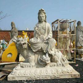坐莲花观音佛像 2.1米白衣观音 木雕观音菩萨