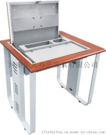 河南乐凡办公家具厂家直销翻转电脑桌 量大从优
