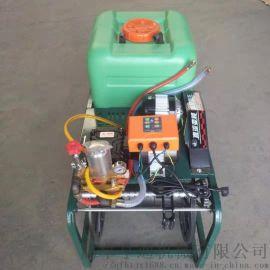 自动卷管打药机 电动 汽油水桶打药一体机
