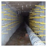 玻璃钢承接式电缆托架 临沂工地地沟电缆支架