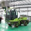 装载移动式混凝土搅拌车 4102发动机的搅拌车