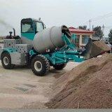 工程建设混凝土搅拌车 自上料混凝土搅拌运输车