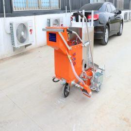 厂家直销 车库路面划线机 手推爬坡汽油划线机