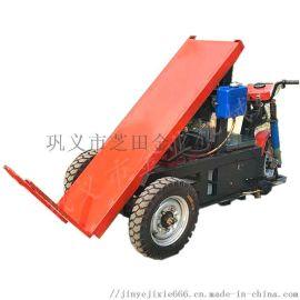 拉加气块砖电动车 楼层运砖车 电动三轮平板车