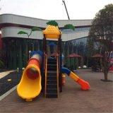 室外组合滑梯规格定制 幼儿园防滑且安全的组合滑梯