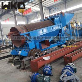 生产无轴滚筒筛沙机 干式筛沙机 滚筒筛设备厂家