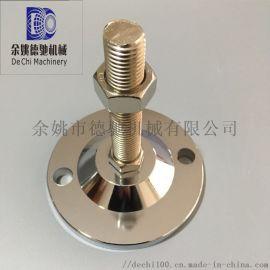 全304水平调节脚杯金属重型调节脚固定地脚螺栓不锈钢减震脚杯