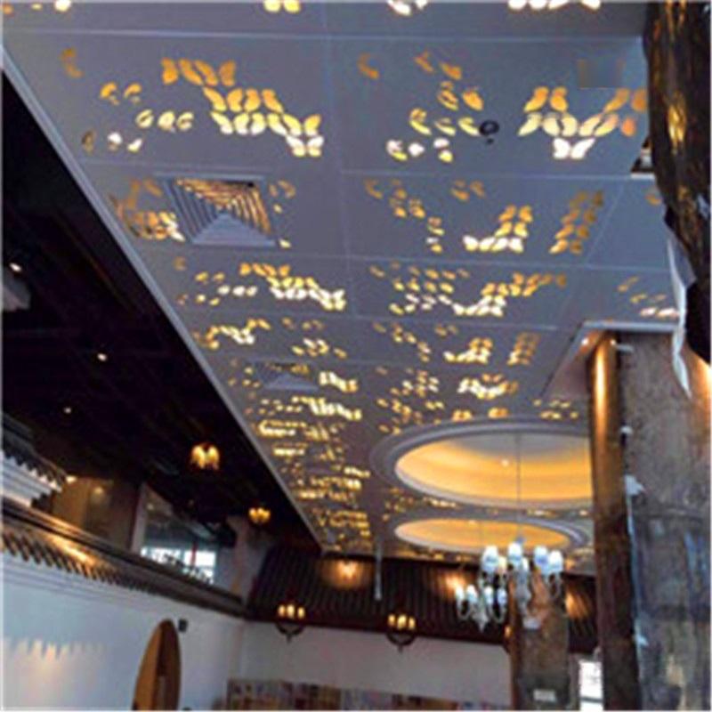 幕墙镂空金属铝单板 外墙镂空铝单板性能优势