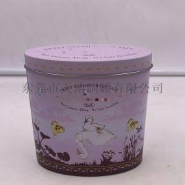 椭圆形咖啡粉咖啡豆铁盒 代餐食品包装罐 厂家
