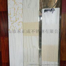 东莞不锈钢木纹方通 201木纹不锈钢方管