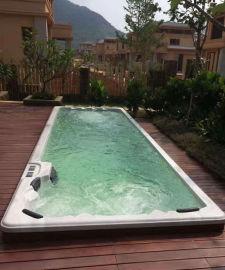 蒙娜丽莎泳池设计-整体泳池工程-一体式泳池价格