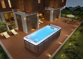 在家就能享受,无边际智能泳池的乐趣