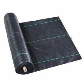 全新料黑色防草布,透水透气抗老化抗晒抑草布