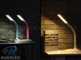 7.5W智能双色温5级触摸调光LED台灯