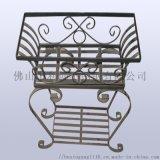 金屬烤漆花盆,時尚不鏽鋼花盆,現代簡約創意花器