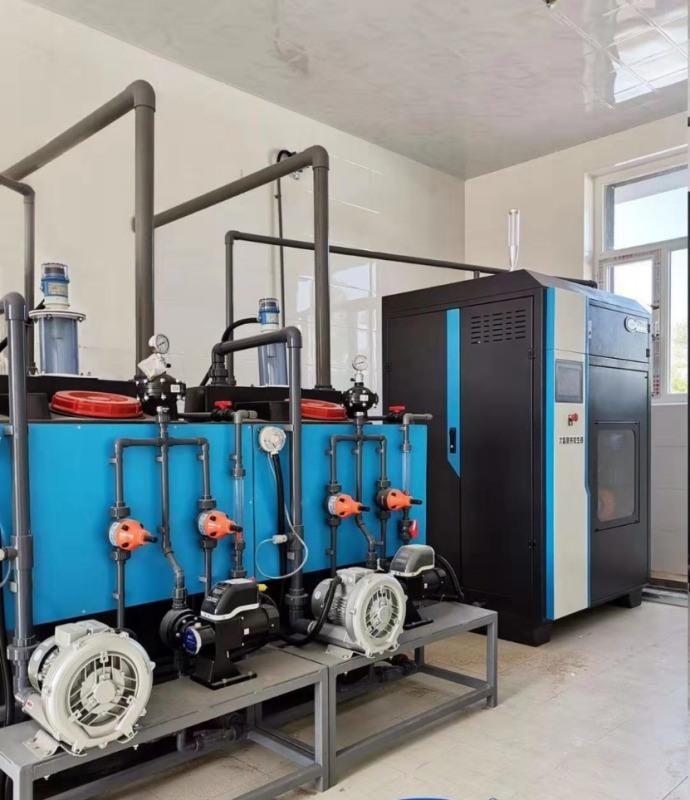 农村饮水消毒设备-电解盐制备次氯酸钠发生器