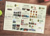 长沙城市景点地图制作景区地图旅游手绘导览图